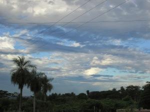 Paraguayan sky