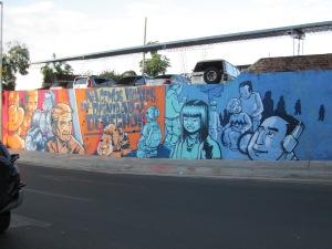 Mural in Asunción