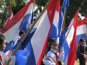 Paraguayan flags