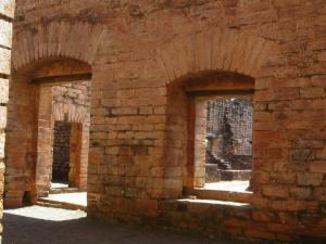 Jesuit Ruins Windows