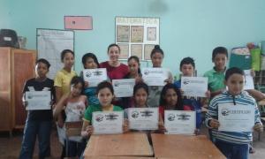 Summer English Class Champions