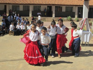 Traditional Paraguayan dance